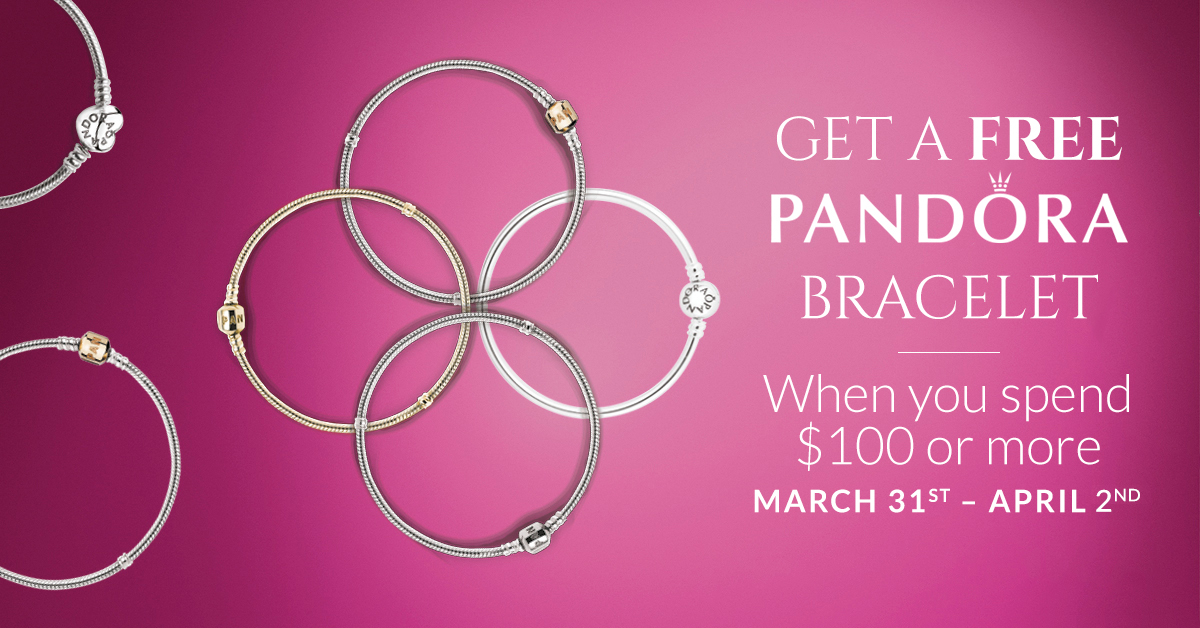 when is the next pandora free bracelet event jmr jewelers pandora free bracelet event 3547